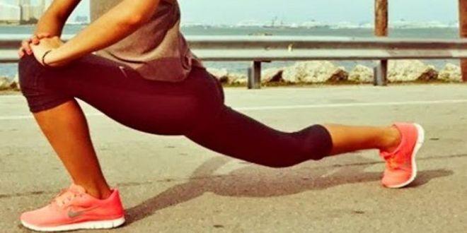 Διατάσεις πριν το τρέξιμο